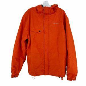 Aperture Men's Orange Ski Snowboard Jacket Hooded